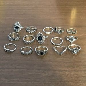 Ring set - 15 count